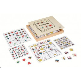 Puzzle educativ Concentra - Toys for Life