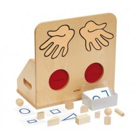 Joc Educativ Pentru Gradinita Materiale Tactile - Forme Geometrice - Toys For Life