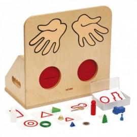 Joc educativ pentru gradinita Materiale tactile - Diverse obiecte - Toys For Life