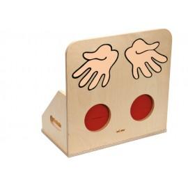 Joc Educativ Pentru Gradinita Cutie Pentru Materiale Tactile - Toys For Life