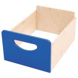 Cutie depozitare din lemn – Albastru