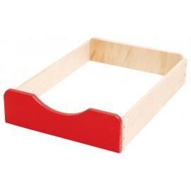 Sertar din lemn F – Rosu