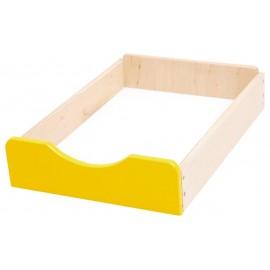 Sertar din lemn F – Galben