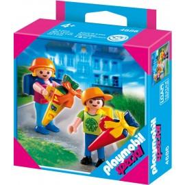 Prima zi de scoala a copiilor - Playmobil