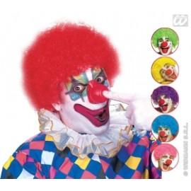Accesoriu carnaval - Peruca clown colorata
