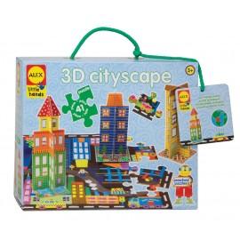 Puzzle Orasul meu 3D - Alex Toys