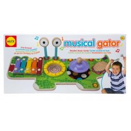 Studio muzical Crocodil - Alex Toys