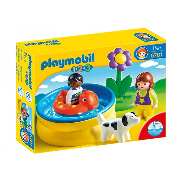 Mini Piscina - Playmobil