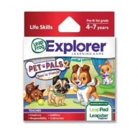 Soft educational LeapPad - Prietenii mei animalele LEAP39087