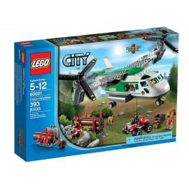 Avion cu elice pentru transport - LEGO City