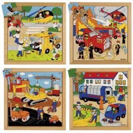 Set 4 puzzle de Actiune - Educo