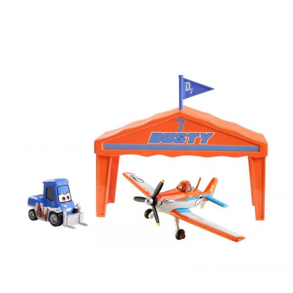 Dusty cu Dottie Set cursa aviatica - Disney Planes