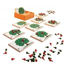 Joc educativ de numarat Arbori cu mere - Toys for Life