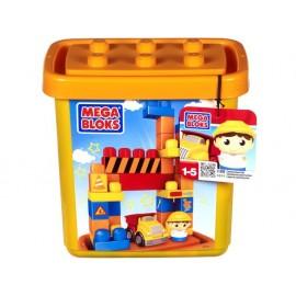 Set constructii cladiri in cutie - Mega Bloks