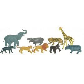 Animale Salbatice Set De 9 Figurine - Miniland imagine
