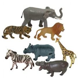 Animale Salbatice Set De 7 Figurine - Miniland imagine