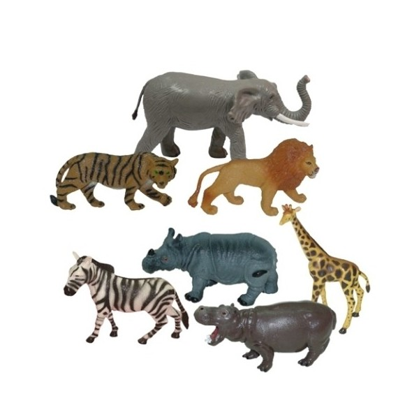 Animale salbatice set de 7 figurine - Miniland