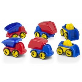 Minimobil Dumpy Set 6 masinute asortate - Miniland