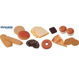 Produse De Cofetarie Set De 15 Figurine - Miniland imagine