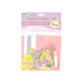 Galt - Trusa penrtu confectioarea de felicitari culori pastel - Card making kit pastels