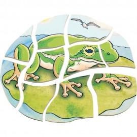 Puzzle stratificat Broasca