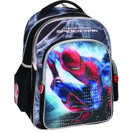 Ghiozdan Spiderman Silver