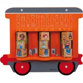 Aplicatie De Perete Trenuletul Copiilor