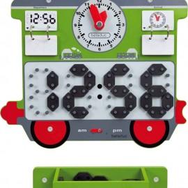 Aplicatie de perete Trenuletul cu ceas