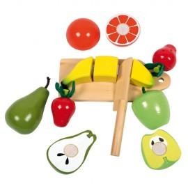 Set De Fructe Din Lemn imagine