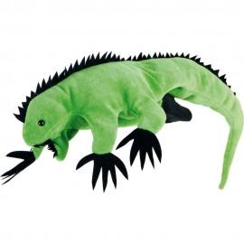 Papusa de mana Iguana