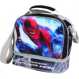 Geanta pentru pranz Spiderman Silver
