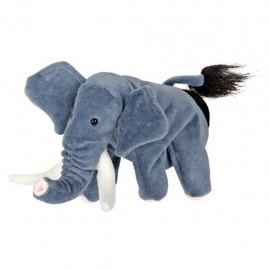Papusa de mana Elefant