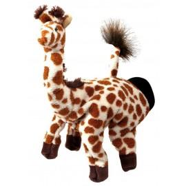 Papusa de mana Girafa