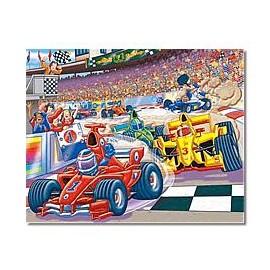 Puzzle Galt - Masini de curse