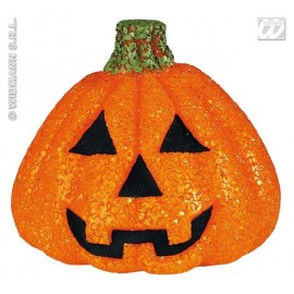 Decor Halloween - Dovleac luminos 15 cm