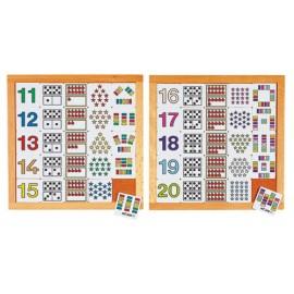 Joc educativ pentru gradinita Diagrama de la 11 la 20 - Educo