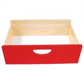 Cutie depozitare din lemn – Roșu – BIS