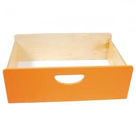 Cutie depozitare din lemn – Portocaliu– BIS
