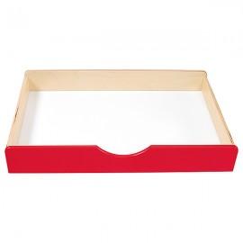 Sertar din lemn – Roșu – BIS