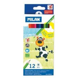 Creion color 12 culori Milan