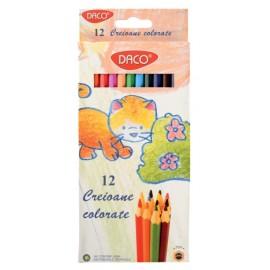 Creion color 12 culori Daco
