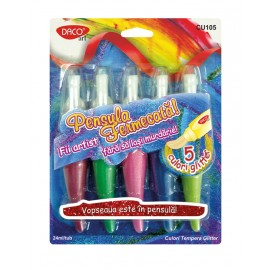 Culori tempera glitter Pensula Fermecata