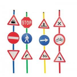 Set 12 semne de circulatie A