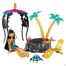 Cleo de nile si oaza din 13 dorinte - Monster High