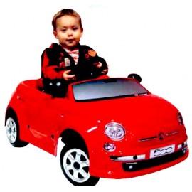 Masinuta electrica 6v fiat new 500 toys toys