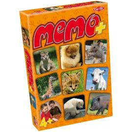 Joc memo - pui de animale