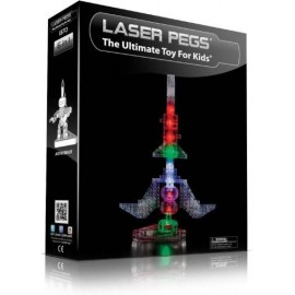 Kit Constructie cu lumini Laser Pegs 6 in 1 - Rocket