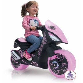 Motocicleta electrica Injusa Hello Kitty 6V (INJ6874)