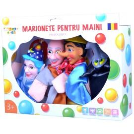 Set marionete pentru maini - Pinochio