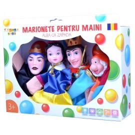 Set marionete pentru maini - Alba ca zapada